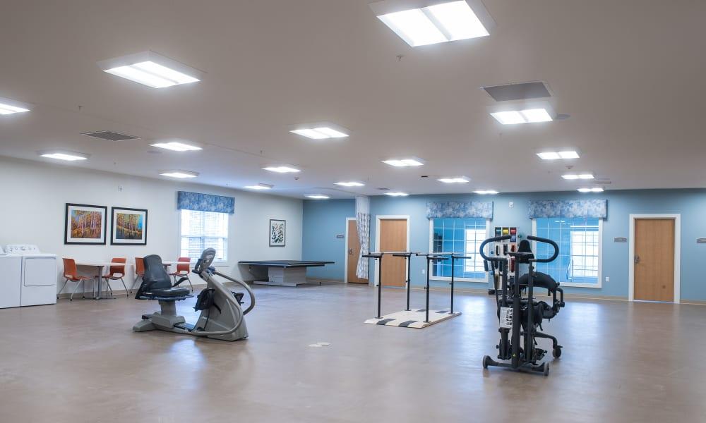 Therapy Gym at Grand Plains in Pratt, Kansas