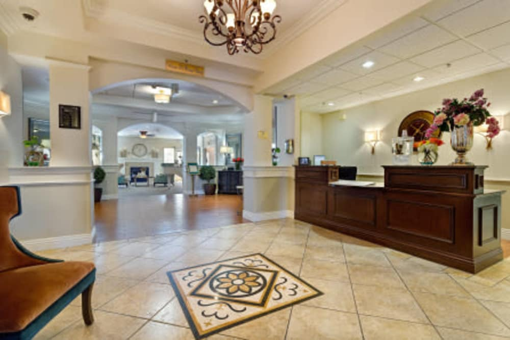 Common area at Heritage Springs in Las Vegas, Nevada