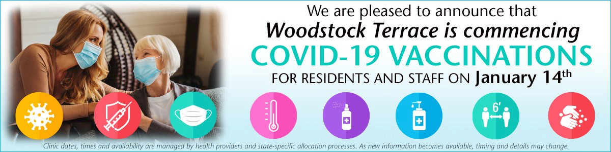 Woodstock Terrace COVID Vaccine Woodstock, VT