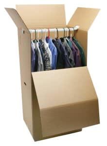 wardrobe box moving supply