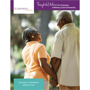 Read the Thoughtful Advice white paper at Aspired Living of La Grange in La Grange, Illinois.