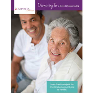 Read the Downsizing for a Move white paper at Aspired Living of La Grange in La Grange, Illinois.