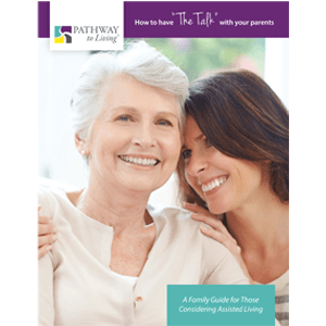 The talk photo card at Oak Hill Supportive Living Community