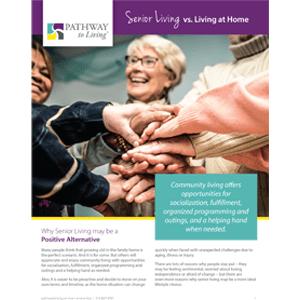 senior living vs living at home