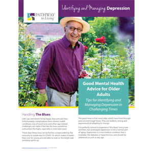Identifying and Managing Depression at Alexian Village of Elk Grove