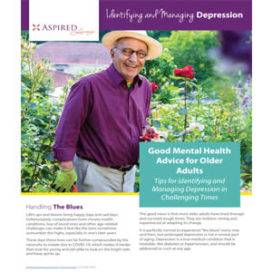 Learn more about Identifying and Managing Depression at Aspired Living of Prospect Heights in Prospect Heights, Illinois