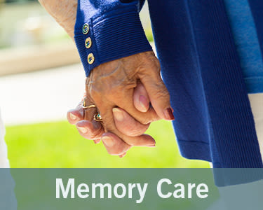 Memory care options at Merrill Gardens at Solivita Marketplace
