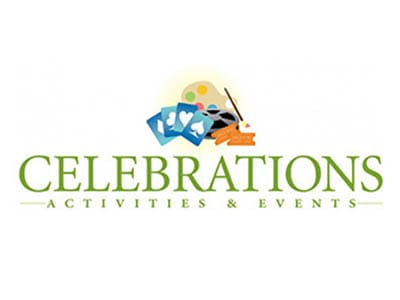 Celebrations custom logo