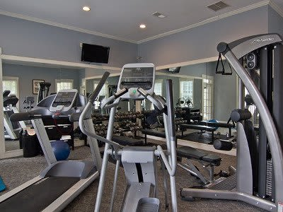 Fitness center at The Preserve at Beckett Ridge in West Chester, Ohio