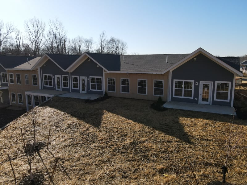 Exterior view of units at Legacy Living Florence in Florence, Kentucky