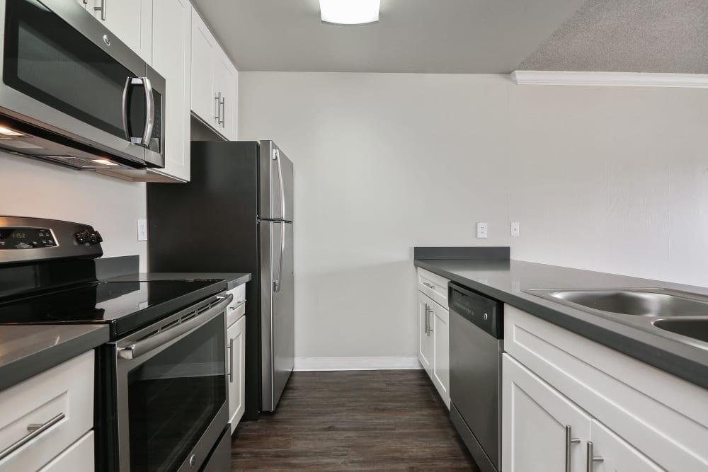Spacious floor plan at Ballena Village Apartment Homes in Alameda, California