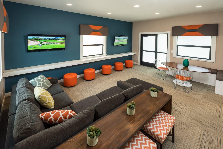Resident lounge at Bridges at San Ramon in San Ramon, California