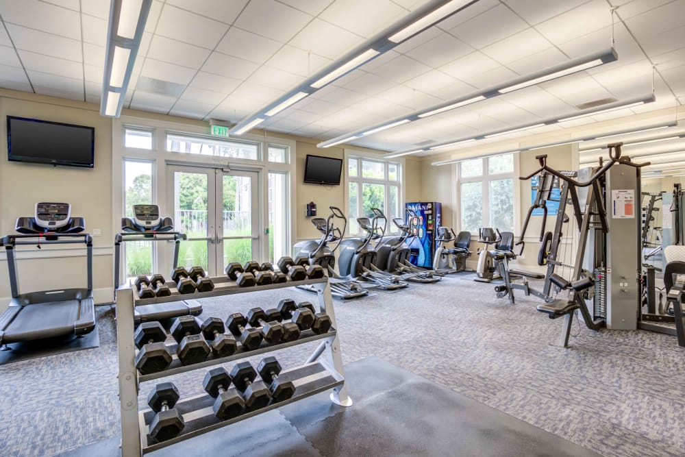 Fitness center at Summer House Apartments