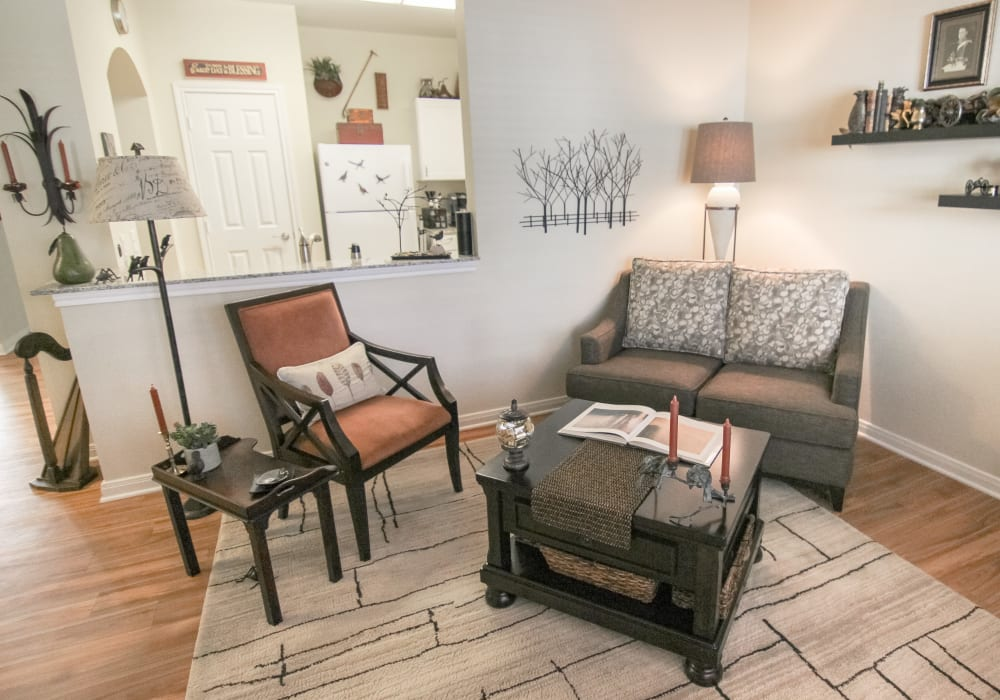 Assisted Living and Memory Care floor plan interior at Stoney Brook of Belton in Belton, Texas