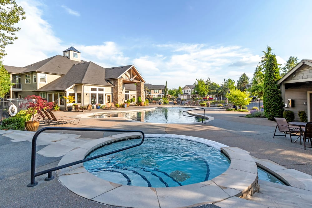 Our Apartments in Puyallup, Washington offer a Hot Tub