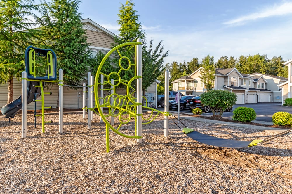 Our Apartments in Puyallup, Washington have a Playground