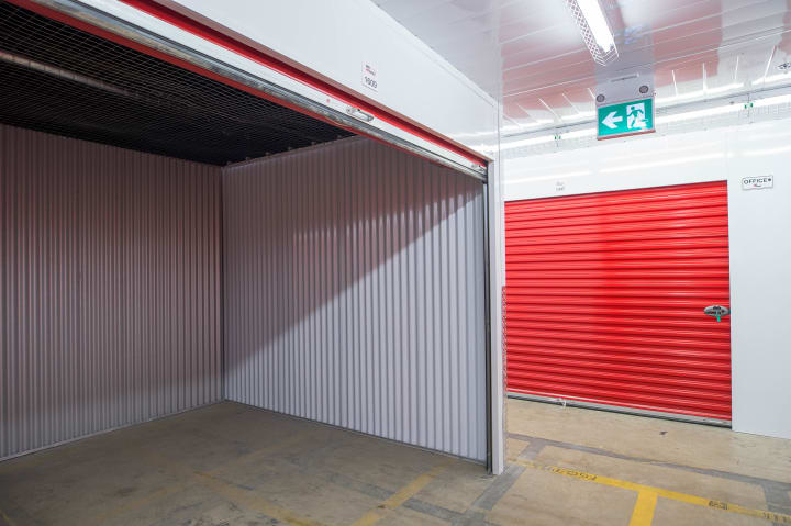 consider a storage unit for seasonal items