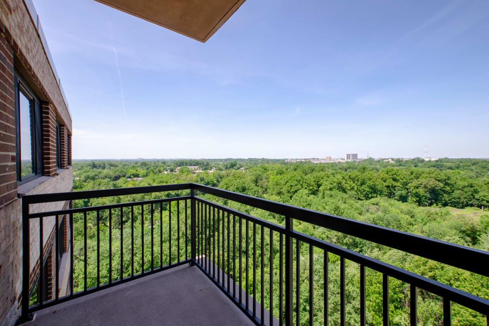 Gorgeous surroundings at The Warwick Apartments in Silver Spring