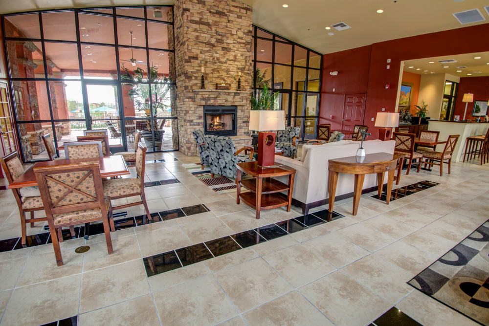 Great room of Oro Vista Apartments in Oro Valley, Arizona