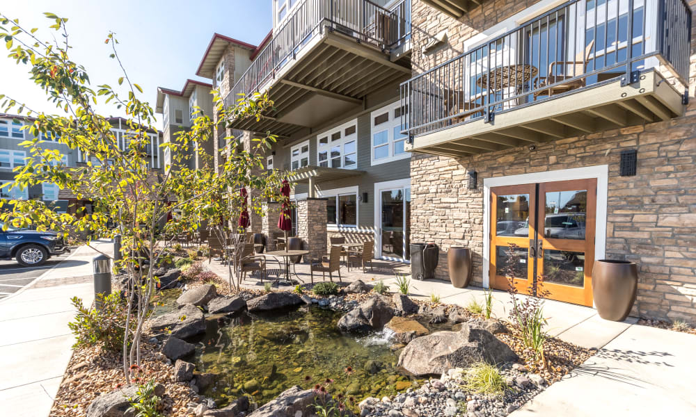 Exterior at The Alexander in Bend, Oregon