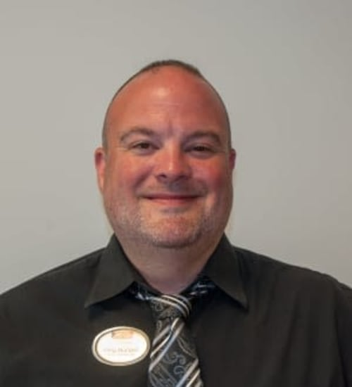 Listen to Interviews with Greg Mundell, Resident Care Manager at Patriots Landing in DuPont, Washington