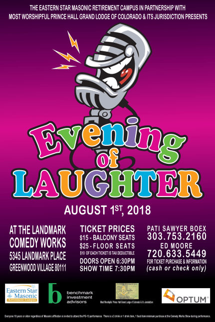 Evening of Laughter Flyer