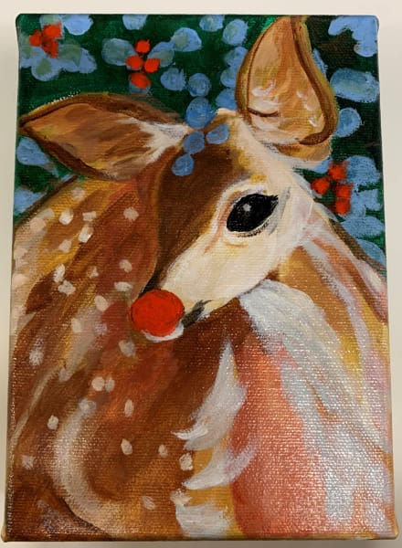 Rudolph painting