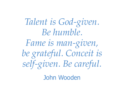 John Wooden quote for Wildwood Canyon Villa Assisted Living and Memory Care in Yucaipa, California