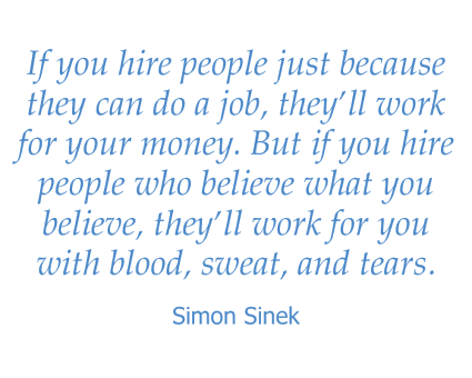 Simon Sinek quote for Maple Ridge Senior Living in Ashland, Oregon