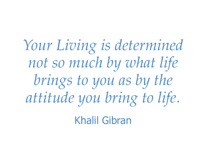 Khalil Gibran quote for Maple Ridge Senior Living in Ashland, Oregon