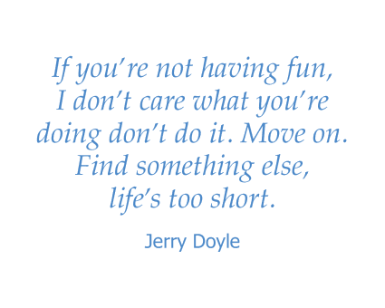 Jerry Doyle quote at Absaroka Senior Living in Cody, Wyoming