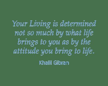 Khalil Gibran quote at Absaroka Senior Living in Cody, Wyoming