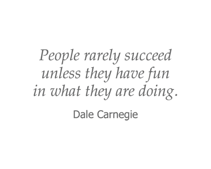 Dale Carnegie quote for Reflections at Garden Place in Columbia, Illinois