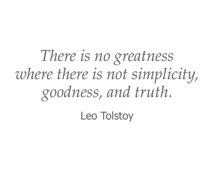 Leo Tolstoy quote for Garden Place Red Bud in Red Bud, Illinois