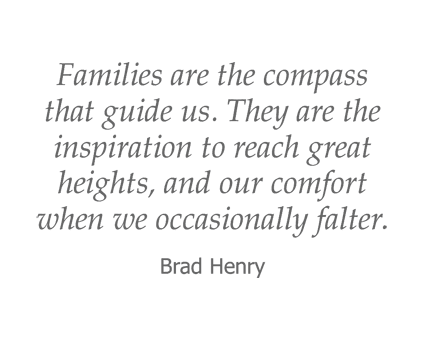 Brad Henry quote for Garden Place Red Bud in Red Bud, Illinois