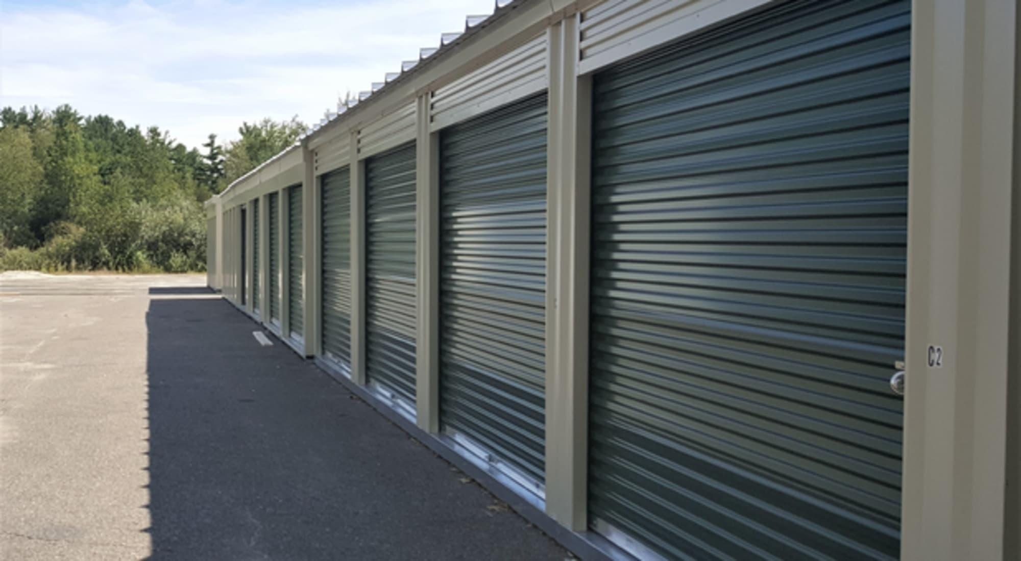 603 Storage - Route 27 self storage in Raymond, New Hampshire