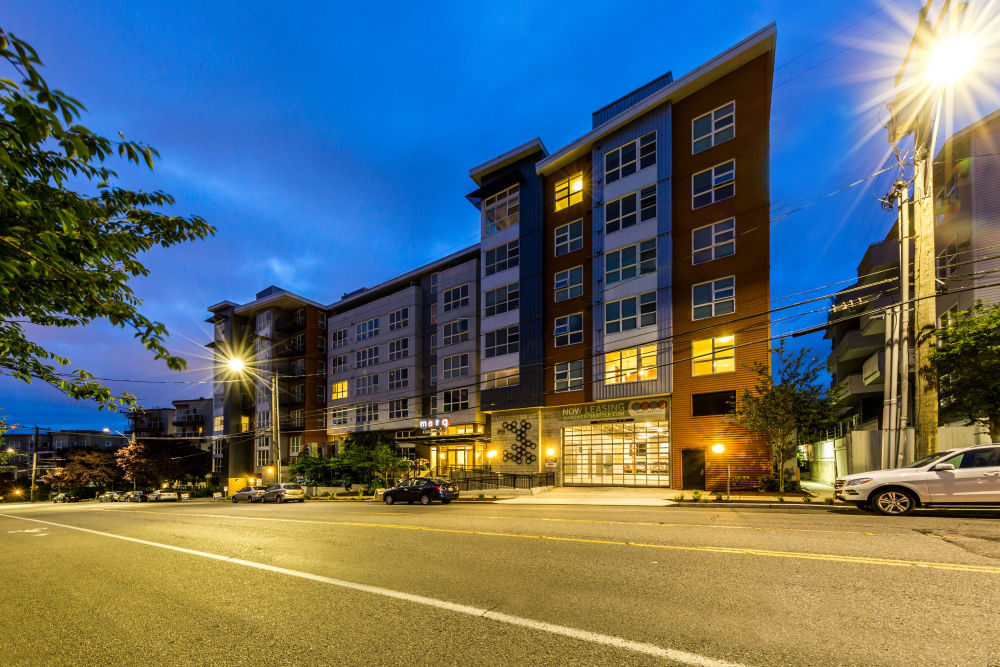 Exterior of Marq West Seattle in Seattle, Washington
