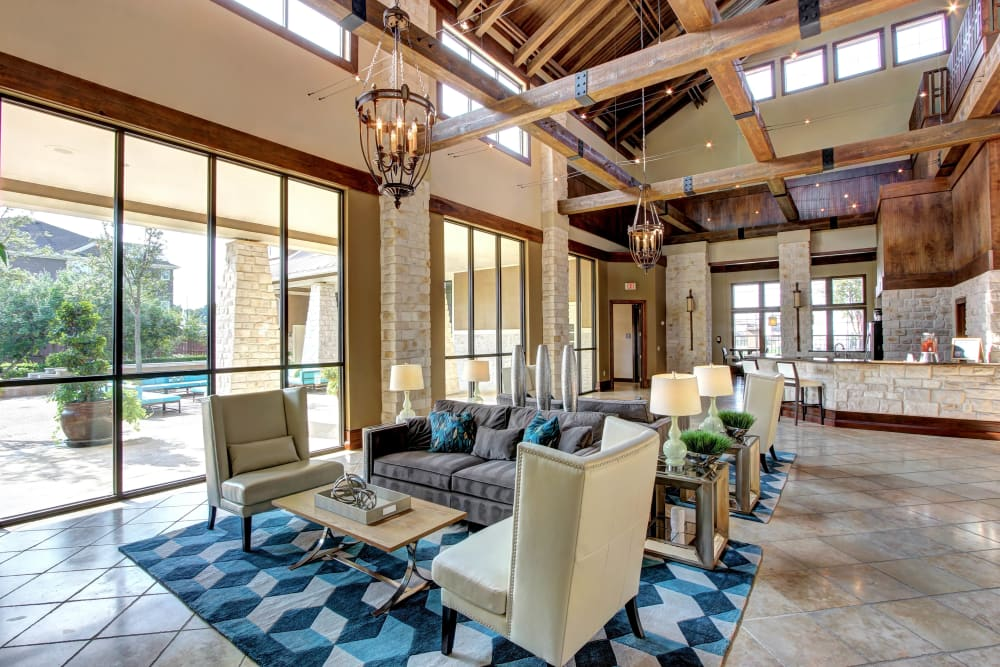 Clubhouse at Marquis at The Woodlands in Spring, Texas
