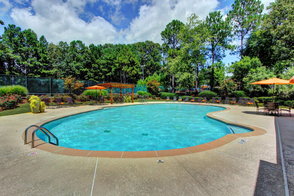 sparkling pool at The Marquis Perimeter Center