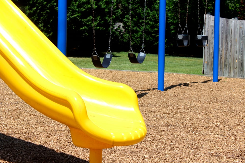 Playground slide at Westgate Apartments & Townhomes