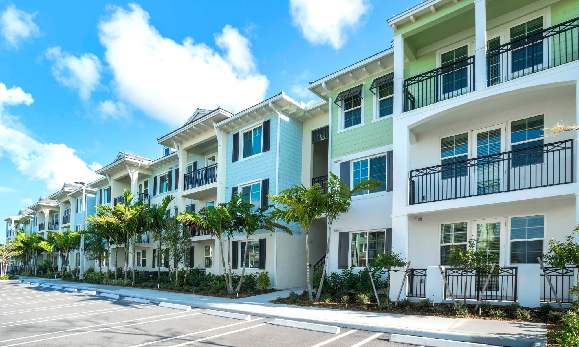 Delray Station apartments in Delray Beach Florida