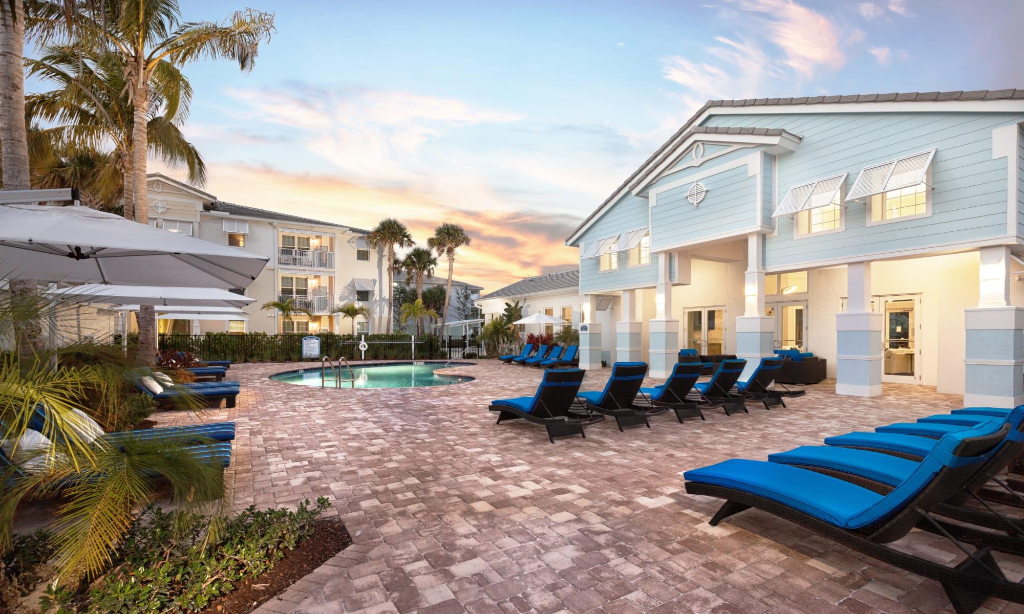 Swimming Pool at High Ridge Landing in Boynton Beach, FL