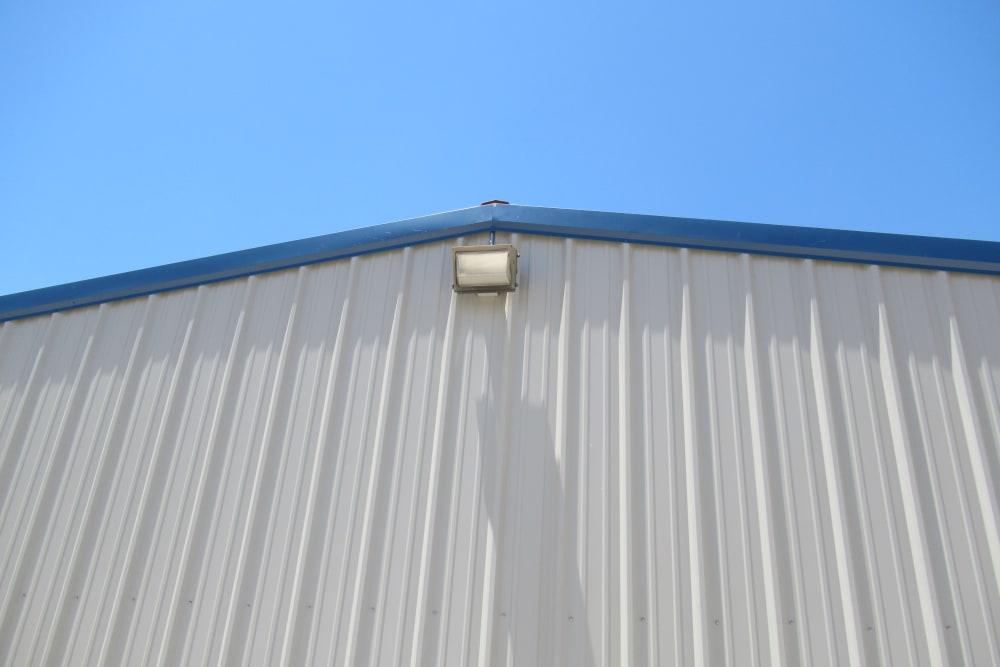 Outdoor lighting at Springtown Self Storage