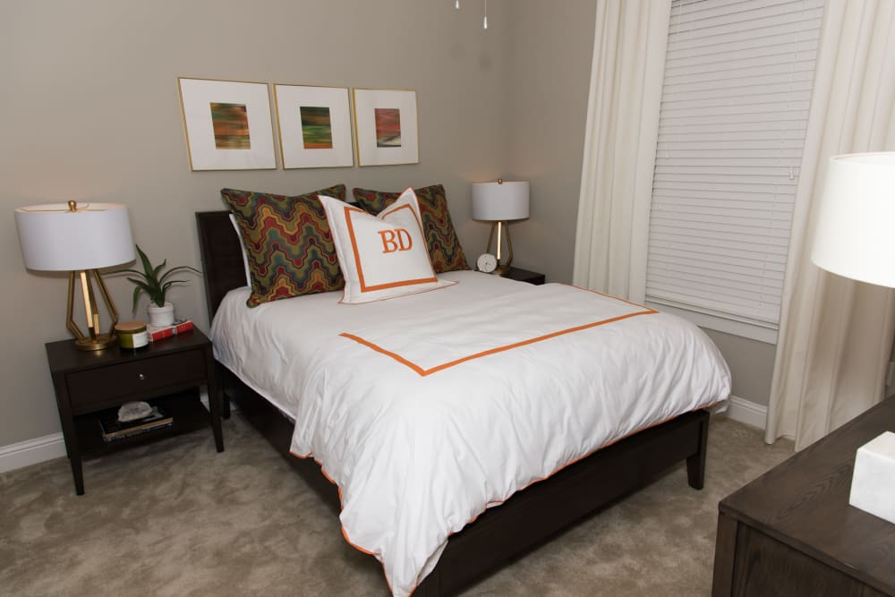 Bedroom at The Reserve on Bayou DeSiard in Monroe, Louisiana