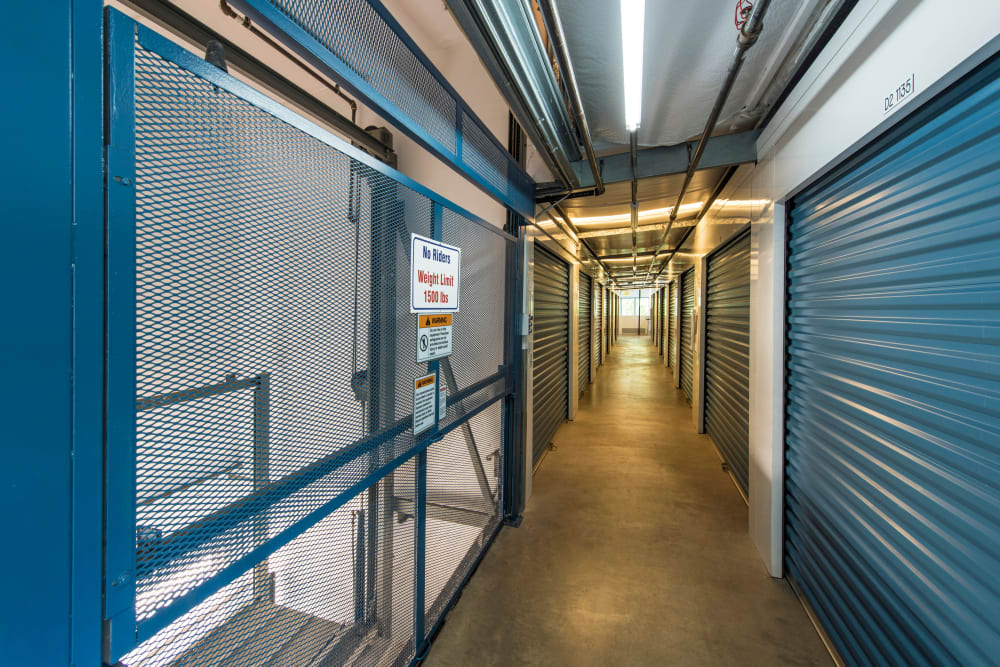Helpful lifts available at Jamacha Point Self Storage