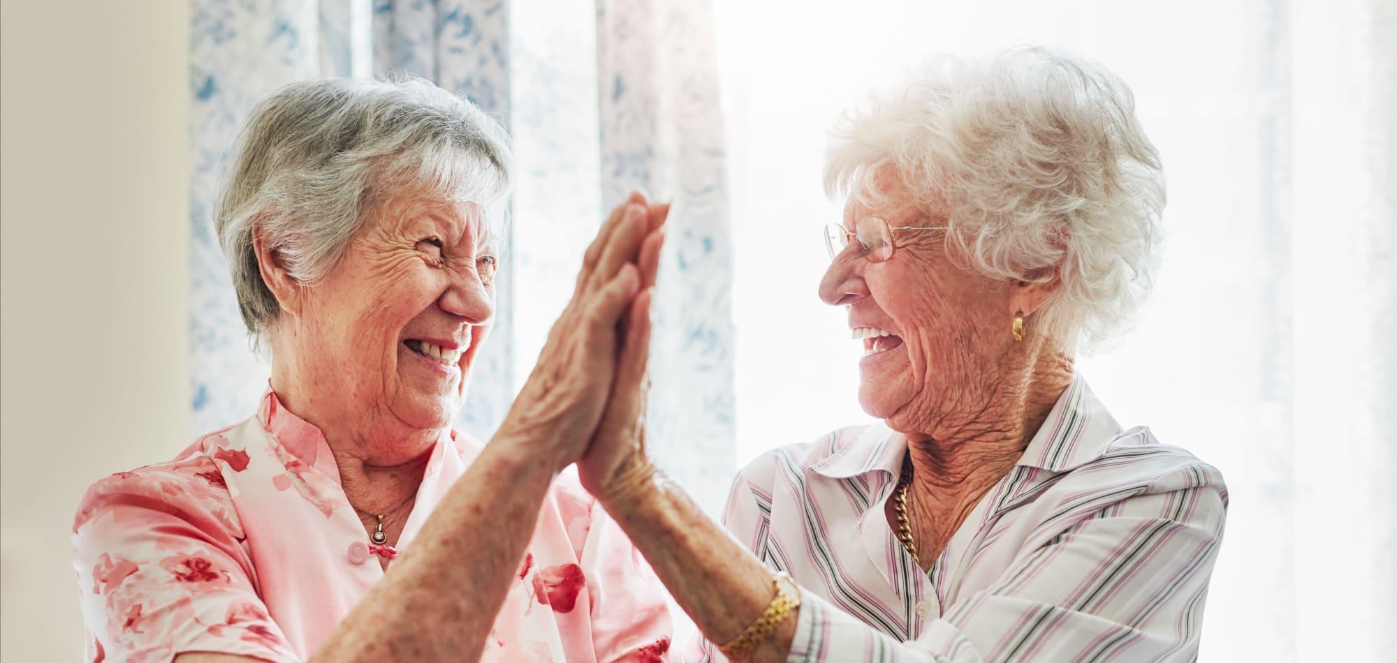 Respite care at Prairie Hills Senior Living in Des Moines, Iowa.