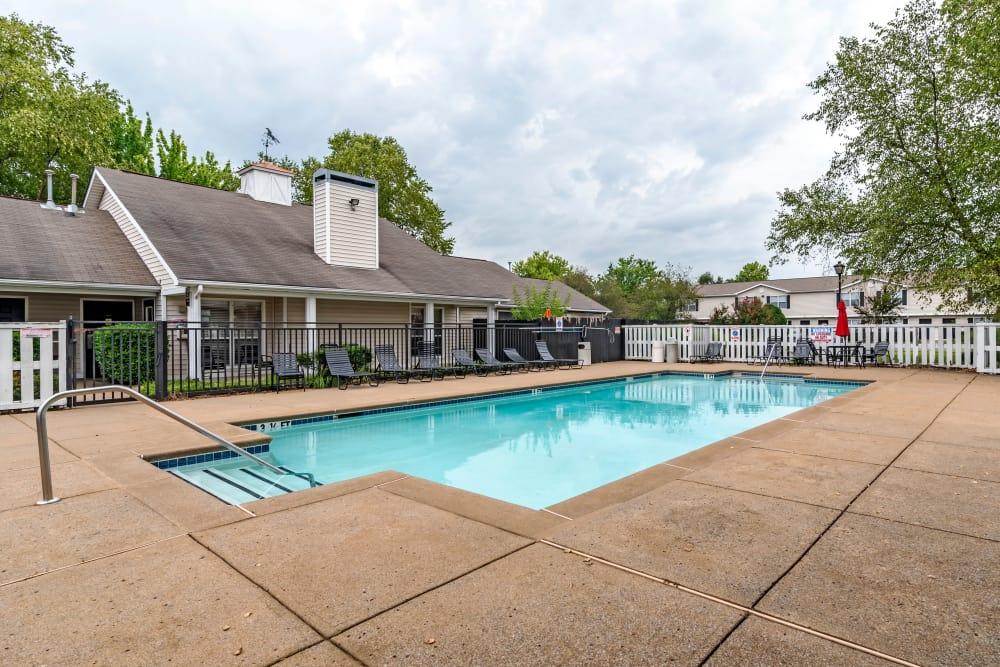Swimming pool at apartments in Gallatin, TN