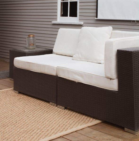 clean and store patio furniture and cushions