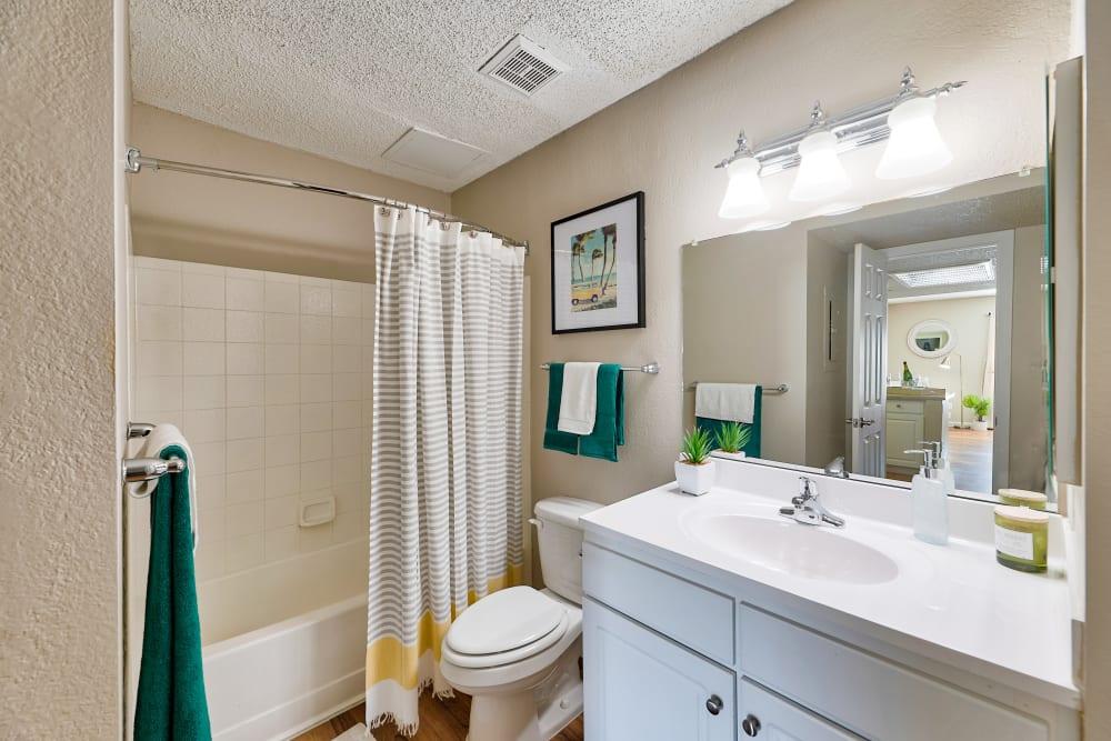 Bathroom at Apartments in Phoenix, Arizona