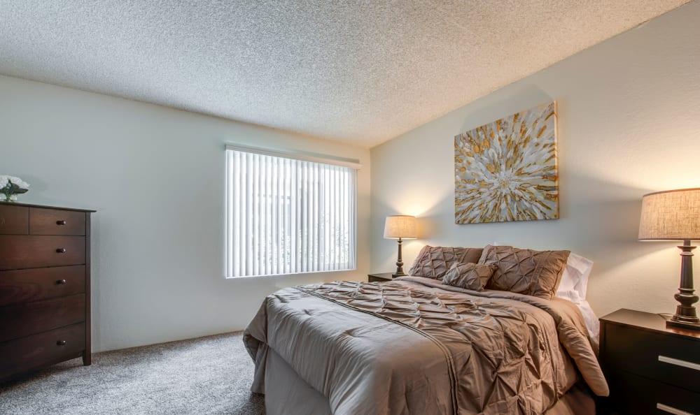 Bedroom at Vista Pointe I in Studio City, California